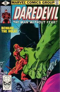 Cover Thumbnail for Daredevil (Marvel, 1964 series) #163 [Direct]