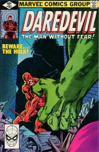 Cover Thumbnail for Daredevil (Marvel, 1964 series) #163 [Direct Edition]