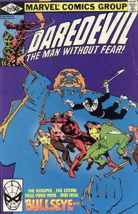 Cover Thumbnail for Daredevil (Marvel, 1964 series) #172 [Direct Edition]