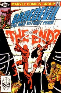 Cover Thumbnail for Daredevil (Marvel, 1964 series) #175 [Direct Edition]