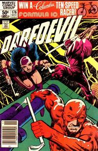 Cover Thumbnail for Daredevil (Marvel, 1964 series) #176 [Newsstand Edition]