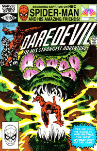 Cover Thumbnail for Daredevil (Marvel, 1964 series) #177 [Direct Edition]
