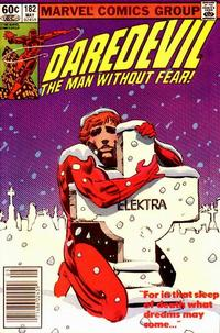 Cover Thumbnail for Daredevil (Marvel, 1964 series) #182 [Newsstand]
