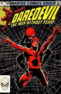 Cover Thumbnail for Daredevil (Marvel, 1964 series) #188 [Direct Edition]