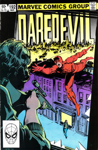 Cover Thumbnail for Daredevil (Marvel, 1964 series) #192 [Direct Edition]