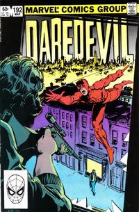 Cover Thumbnail for Daredevil (Marvel, 1964 series) #192 [Direct]