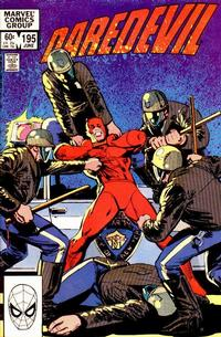 Cover Thumbnail for Daredevil (Marvel, 1964 series) #195 [Direct Edition]