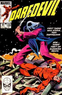 Cover for Daredevil (Marvel, 1964 series) #199 [Direct Edition]