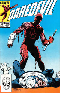 Cover Thumbnail for Daredevil (Marvel, 1964 series) #200 [Direct Edition]
