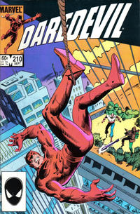Cover Thumbnail for Daredevil (Marvel, 1964 series) #210 [Direct Edition]