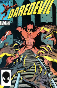Cover Thumbnail for Daredevil (Marvel, 1964 series) #213 [Direct Edition]