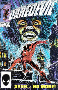 Cover Thumbnail for Daredevil (Marvel, 1964 series) #214 [Direct Edition]
