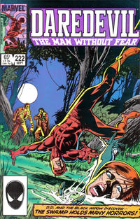 Cover Thumbnail for Daredevil (Marvel, 1964 series) #222 [Direct Edition]