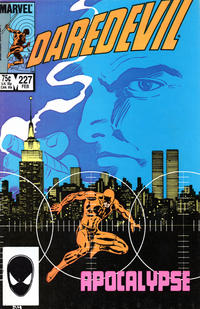 Cover for Daredevil (Marvel, 1964 series) #227 [Direct Edition]