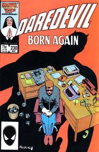 Cover Thumbnail for Daredevil (Marvel, 1964 series) #230 [Direct]