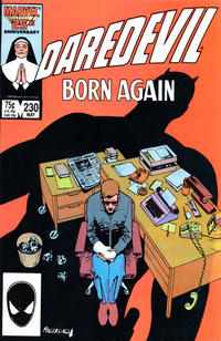 Cover Thumbnail for Daredevil (Marvel, 1964 series) #230 [Direct Edition]