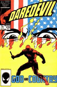 Cover Thumbnail for Daredevil (Marvel, 1964 series) #232 [Direct]