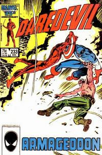 Cover Thumbnail for Daredevil (Marvel, 1964 series) #233 [Direct Edition]