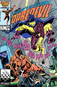 Cover Thumbnail for Daredevil (Marvel, 1964 series) #234 [Direct Edition]