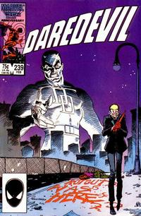 Cover Thumbnail for Daredevil (Marvel, 1964 series) #239 [Direct Edition]