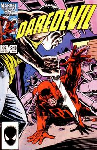 Cover Thumbnail for Daredevil (Marvel, 1964 series) #240 [Direct Edition]