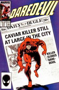 Cover Thumbnail for Daredevil (Marvel, 1964 series) #242 [Direct]