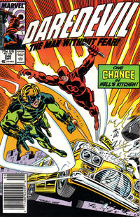 Cover Thumbnail for Daredevil (Marvel, 1964 series) #246 [Newsstand Edition]