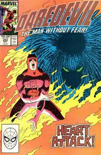 Cover Thumbnail for Daredevil (Marvel, 1964 series) #254 [Direct]
