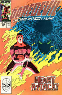 Cover Thumbnail for Daredevil (Marvel, 1964 series) #254 [Direct Edition]