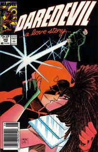 Cover Thumbnail for Daredevil (Marvel, 1964 series) #255 [Newsstand]