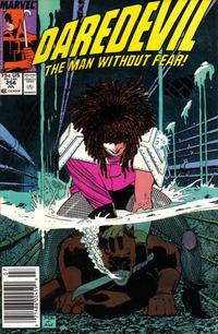 Cover Thumbnail for Daredevil (Marvel, 1964 series) #256 [Newsstand]