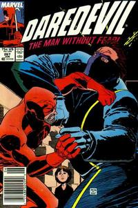 Cover for Daredevil (Marvel, 1964 series) #267 [Newsstand Edition]
