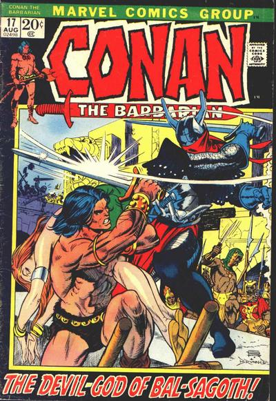 Cover for Conan the Barbarian (Marvel, 1970 series) #17 [Regular Edition]