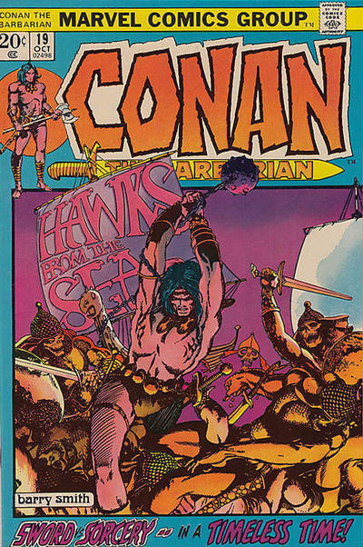 Cover for Conan the Barbarian (Marvel, 1970 series) #19 [Regular Edition]