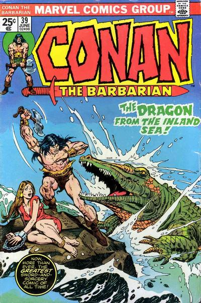 Cover for Conan the Barbarian (Marvel, 1970 series) #39