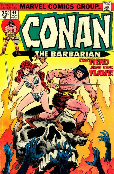 Cover for Conan the Barbarian (Marvel, 1970 series) #44