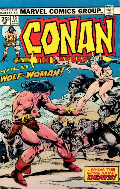 Cover for Conan the Barbarian (Marvel, 1970 series) #49 [Regular Edition]