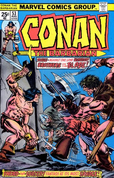 Cover for Conan the Barbarian (Marvel, 1970 series) #53 [Regular Edition]