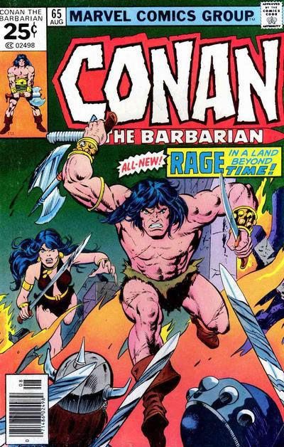Cover for Conan the Barbarian (Marvel, 1970 series) #65 [Regular Edition]