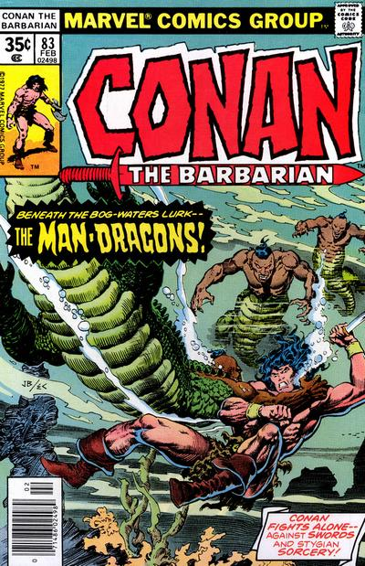 Cover for Conan the Barbarian (Marvel, 1970 series) #83