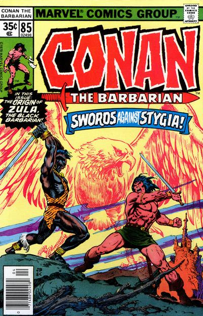 Cover for Conan the Barbarian (Marvel, 1970 series) #85