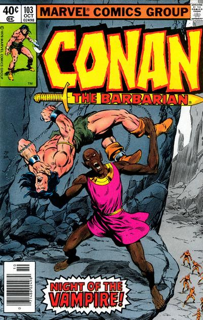 Cover for Conan the Barbarian (Marvel, 1970 series) #103 [Direct Edition]