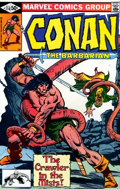 Cover for Conan the Barbarian (Marvel, 1970 series) #116 [Direct Edition]
