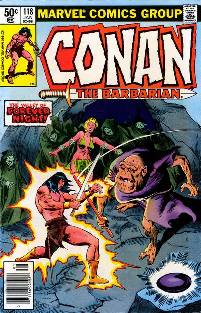 Cover for Conan the Barbarian (Marvel, 1970 series) #118 [Direct Edition]