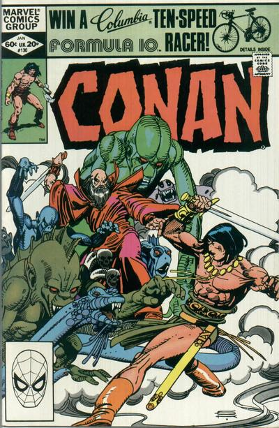 Cover for Conan the Barbarian (Marvel, 1970 series) #130 [Newsstand Edition]