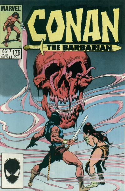 Cover for Conan the Barbarian (Marvel, 1970 series) #175 [Direct Edition]