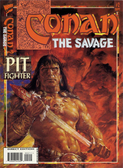 Cover for Conan the Savage (Marvel, 1995 series) #2