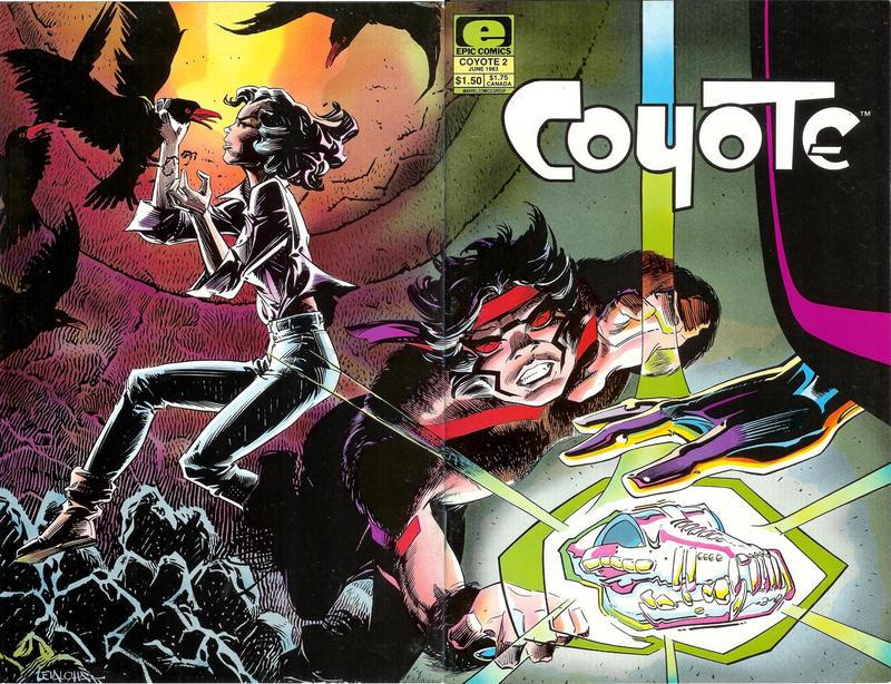 Cover for Coyote (Marvel, 1983 series) #2