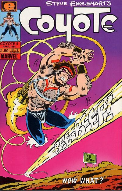 Cover for Coyote (Marvel, 1983 series) #5