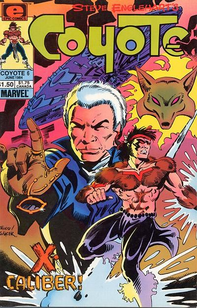 Cover for Coyote (Marvel, 1983 series) #6